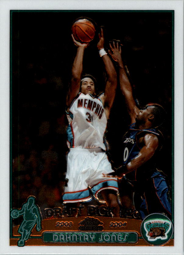 2003-04 Topps Chrome #130 Dahntay Jones RC