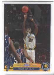 2003-04 Topps Chrome Refractors #57 Ron Artest