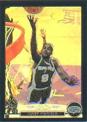 2003-04 Topps Chrome Refractors Black #9 Tony Parker