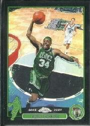 2003-04 Topps Chrome Refractors Black #14 Paul Pierce