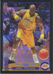2003-04 Topps Chrome Refractors Black #32 Karl Malone