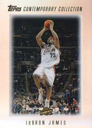 2003-04 Topps Contemporary Collection #1 LeBron James RC