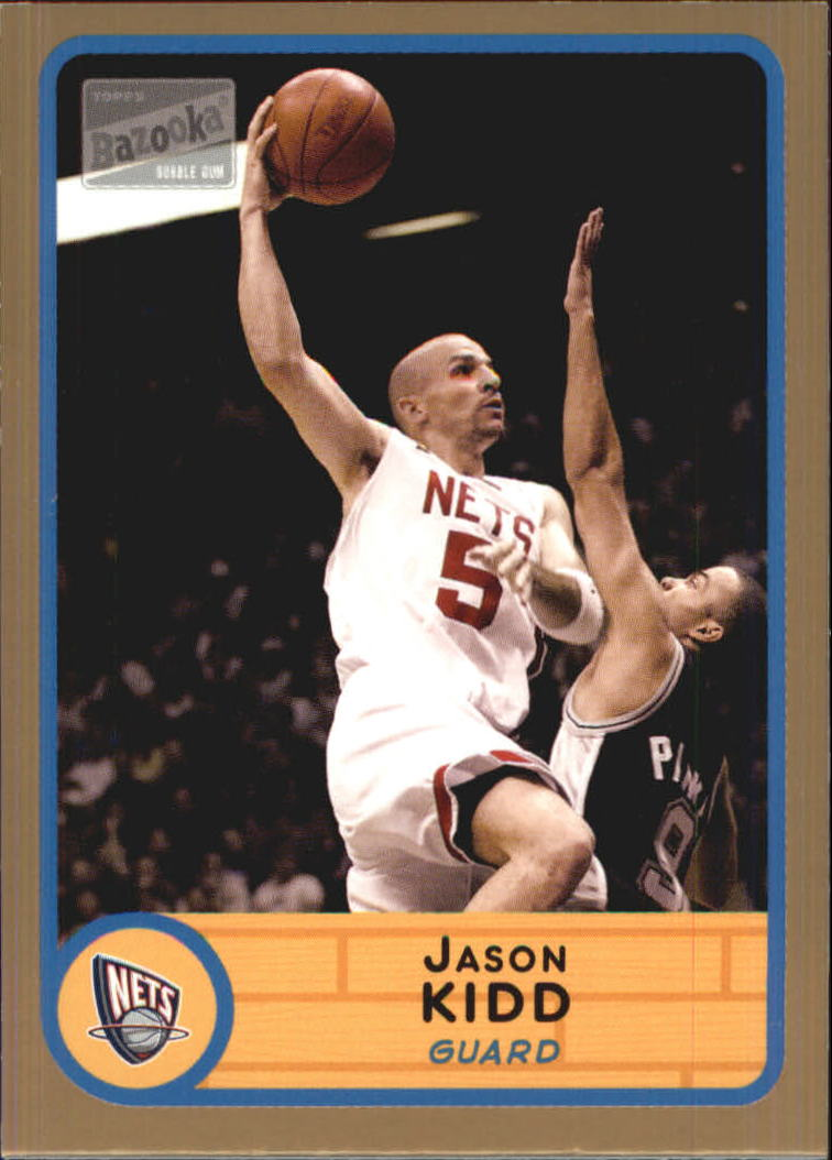2003-04 Bazooka Parallel #10 Jason Kidd