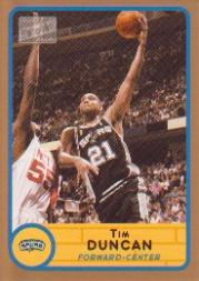 2003-04 Bazooka Parallel #100 Tim Duncan