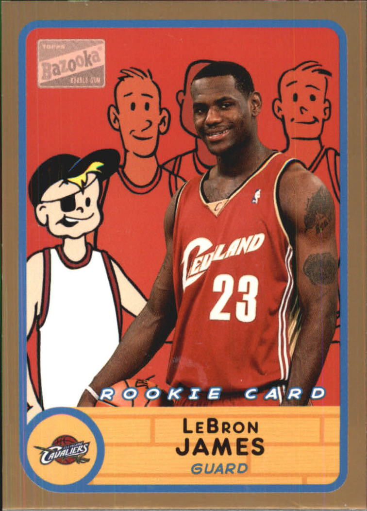 2003-04 Bazooka Parallel #276 LeBron James BAZ