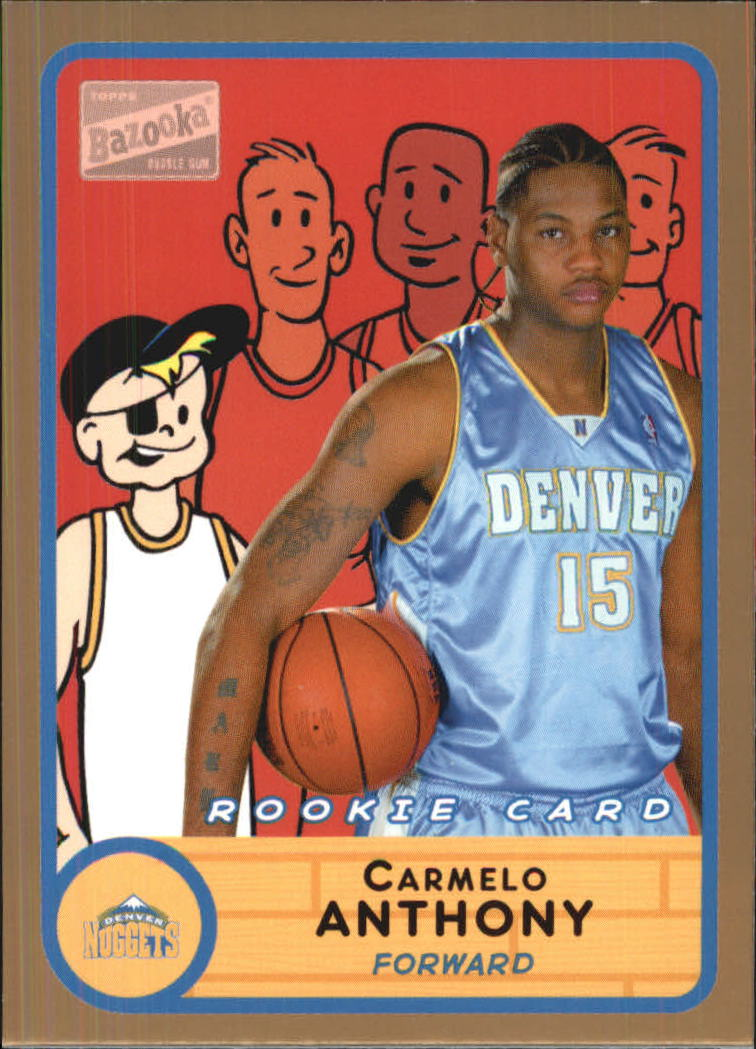 2003-04 Bazooka Parallel #278 Carmelo Anthony BAZ