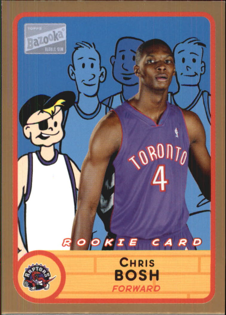 2003-04 Bazooka Parallel #279 Chris Bosh BAZ
