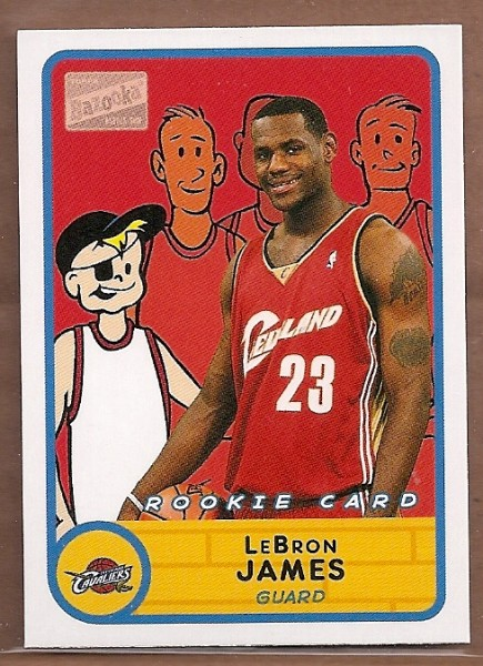 2003-04 Bazooka Mini #276 LeBron James BAZ