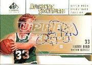 2003-04 SP Signature Edition Signatures Gold #LB Larry Bird