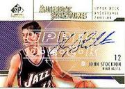 2003-04 SP Signature Edition Signatures Gold #ST John Stockton