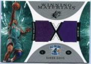2003-04 SPx Winning Materials #WM12 Baron Davis