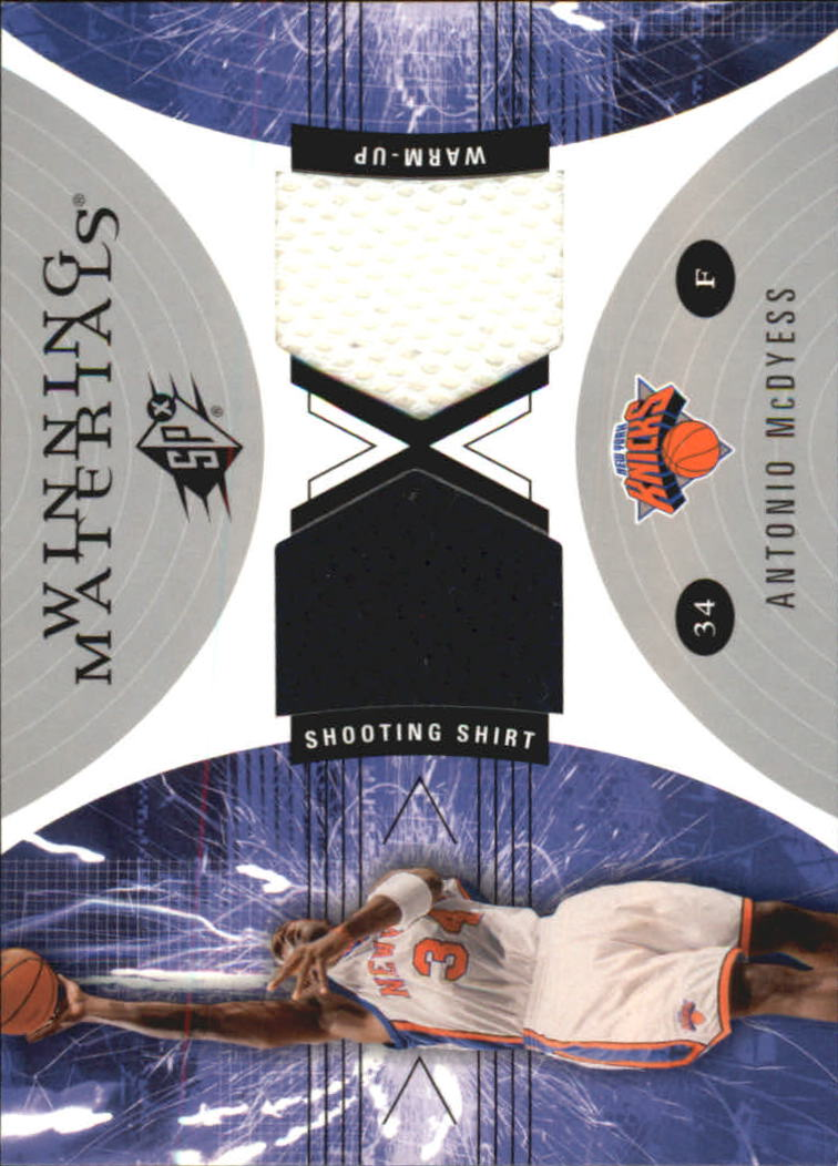 2003-04 SPx Winning Materials #WM21 Antonio McDyess