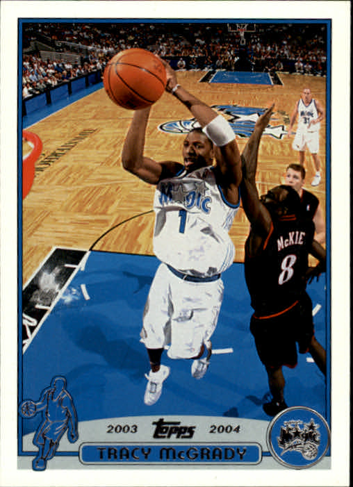 2003-04 Topps #1 Tracy McGrady front image