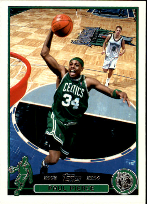 2003-04 Topps #14 Paul Pierce