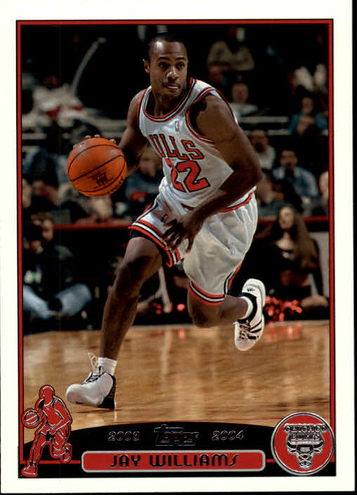 2003-04 Topps #22 Jay Williams