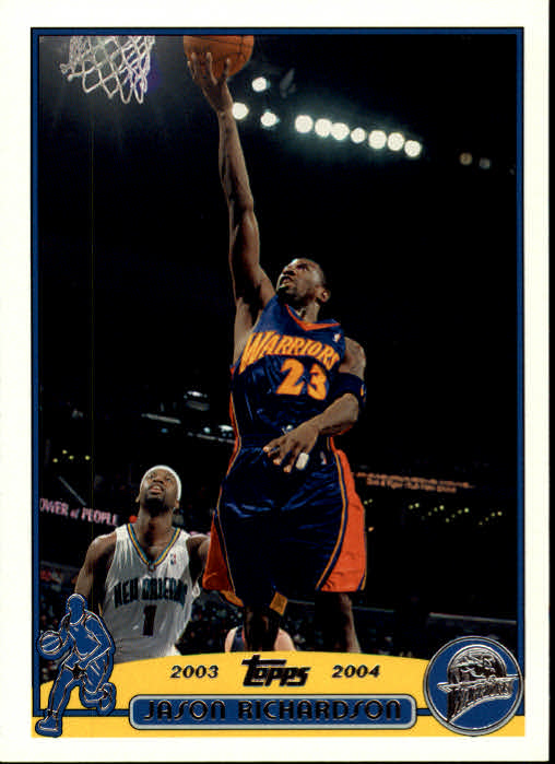 2003-04 Topps #23 Jason Richardson