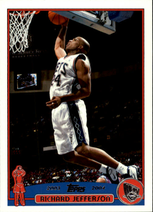 2003-04 Topps #27 Richard Jefferson