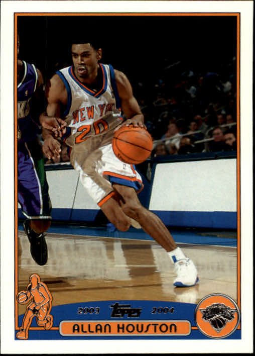 2003-04 Topps #39 Allan Houston