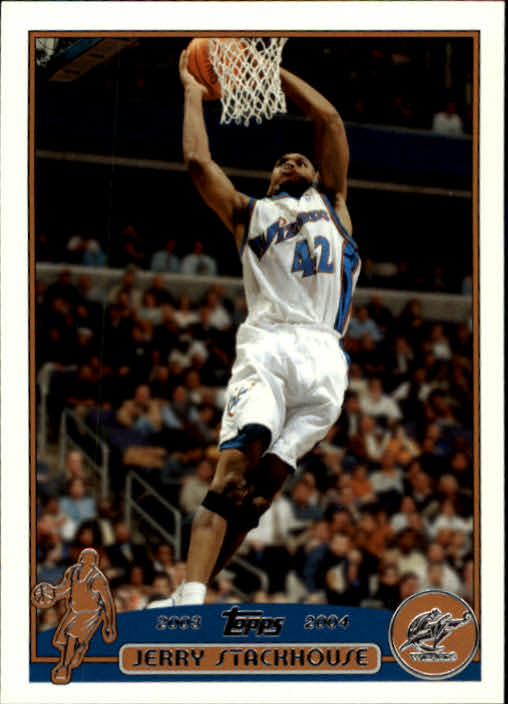 2003-04 Topps #52 Jerry Stackhouse