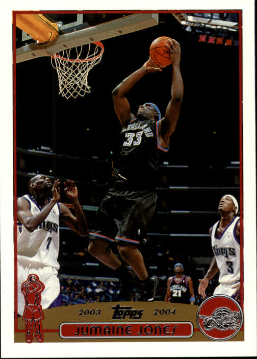 2003-04 Topps #57 Jumaine Jones