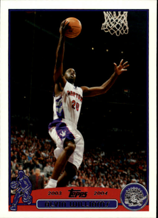 2003-04 Topps #71 Alvin Williams