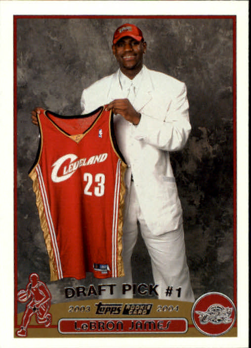 2003-04 Topps #221 LeBron James RC