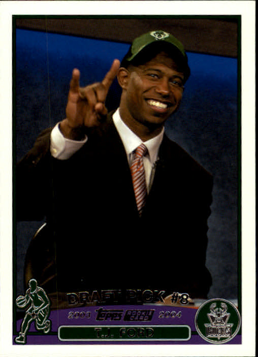 2003-04 Topps #228 T.J. Ford RC