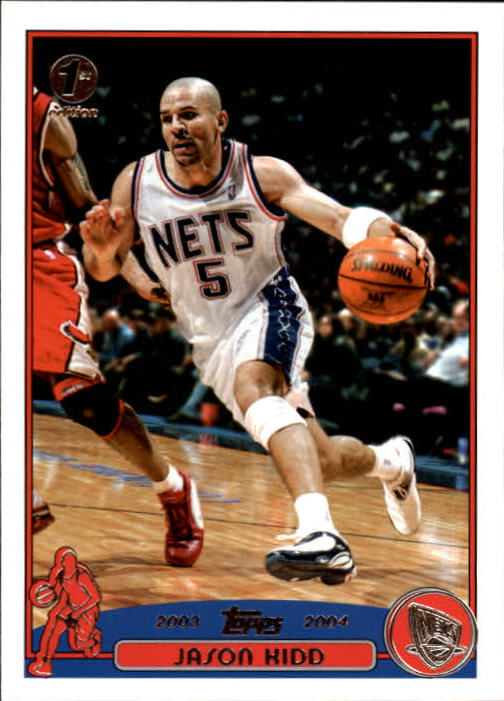2003-04 Topps First Edition #5 Jason Kidd