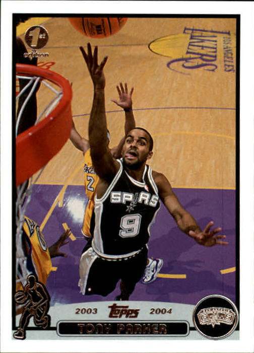 2003-04 Topps First Edition #9 Tony Parker