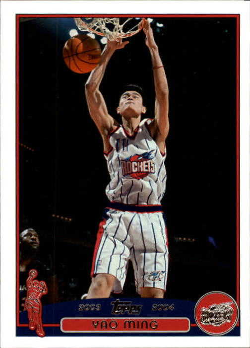 2003-04 Topps First Edition #11 Yao Ming