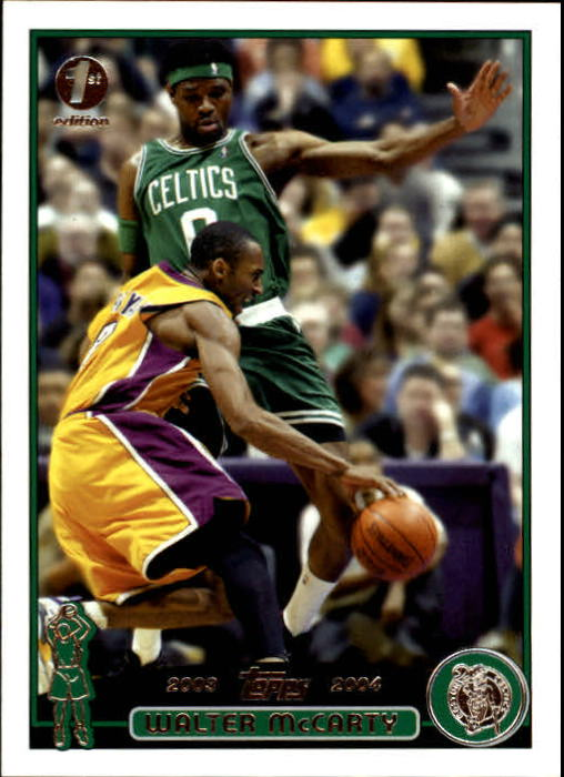 2003-04 Topps First Edition #12 Walter McCarty