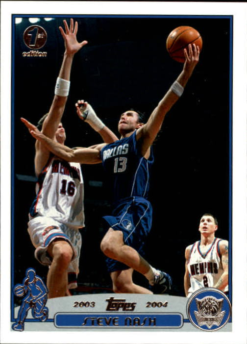 2003-04 Topps First Edition #13 Steve Nash