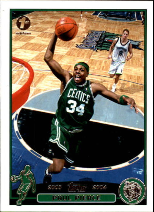 2003-04 Topps First Edition #14 Paul Pierce