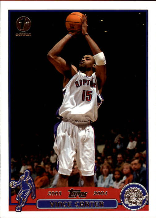 2003-04 Topps First Edition #15 Vince Carter