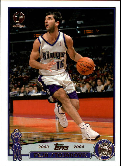 2003-04 Topps First Edition #16 Peja Stojakovic