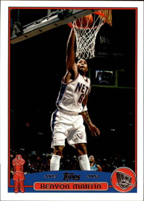 2003-04 Topps First Edition #18 Kenyon Martin