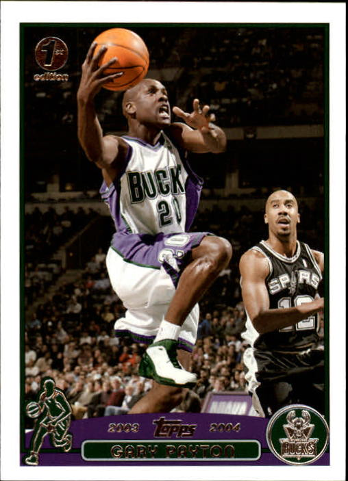 2003-04 Topps First Edition #20 Gary Payton