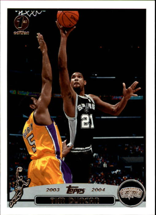 2003-04 Topps First Edition #21 Tim Duncan