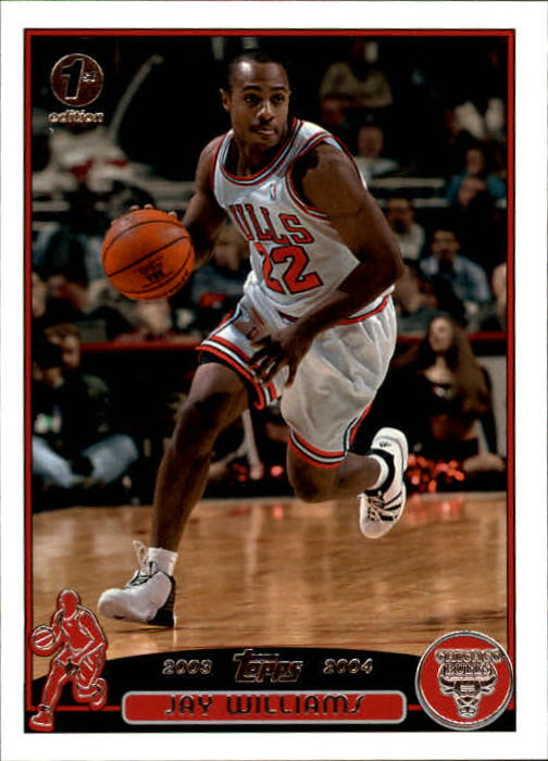 2003-04 Topps First Edition #22 Jay Williams