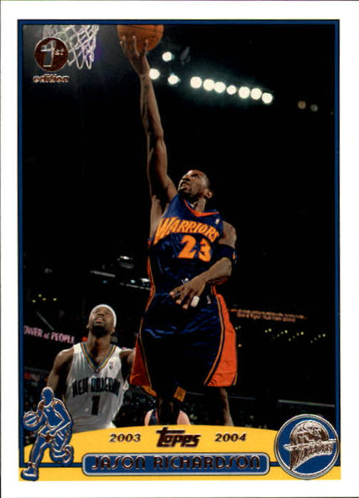 2003-04 Topps First Edition #23 Jason Richardson