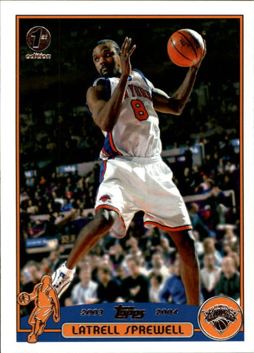 2003-04 Topps First Edition #25 Latrell Sprewell