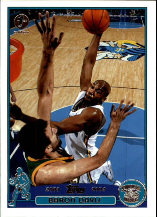 2003-04 Topps First Edition #29 Baron Davis