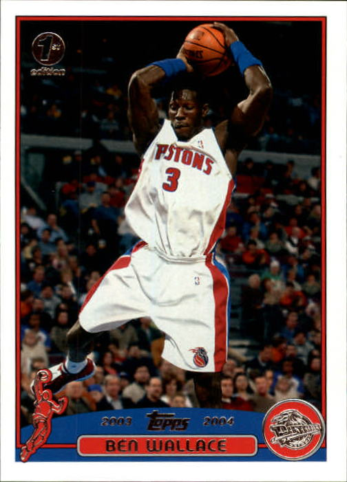 2003-04 Topps First Edition #30 Ben Wallace