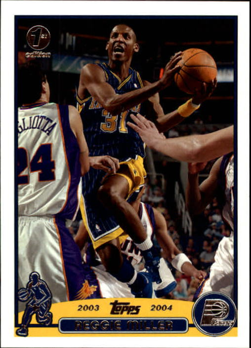 2003-04 Topps First Edition #31 Reggie Miller