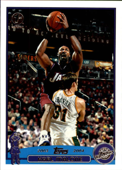 2003-04 Topps First Edition #32 Karl Malone