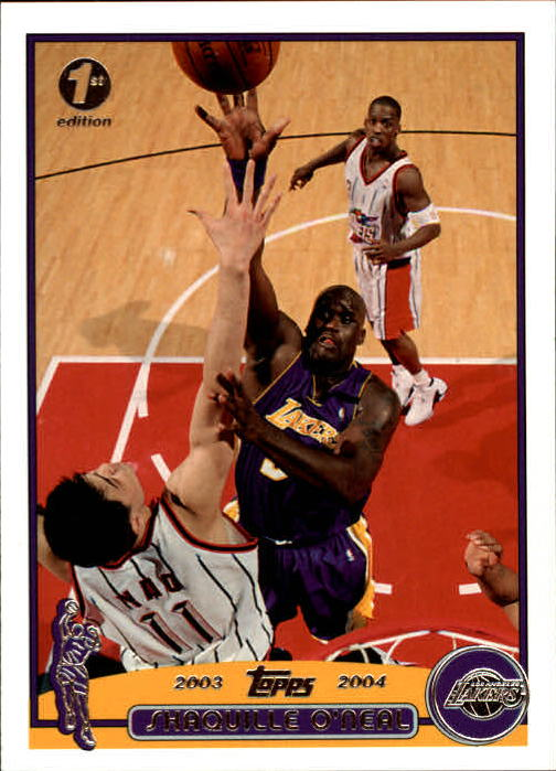 2003-04 Topps First Edition #34 Shaquille O'Neal