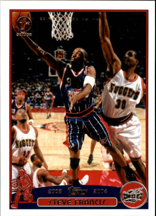 2003-04 Topps First Edition #35 Steve Francis