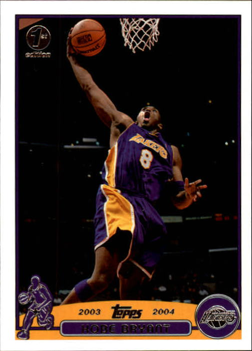 2003-04 Topps First Edition #36 Kobe Bryant