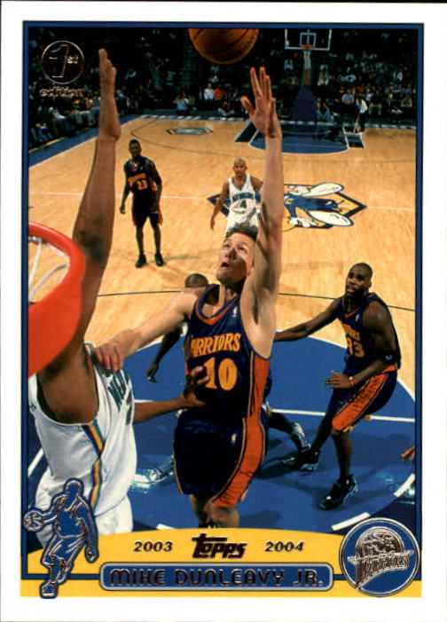 2003-04 Topps First Edition #37 Mike Dunleavy