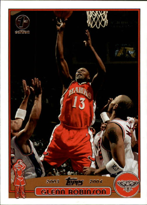 2003-04 Topps First Edition #38 Glenn Robinson
